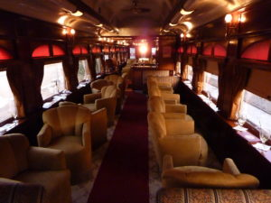The Napa Wine Train is a great way to see the napa valley